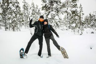 Wyprawa na rakietach śnieznych Finlandia