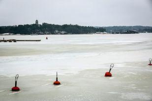 Wędkowanie w lodzie Finlandia