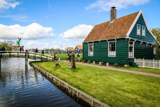 Wioska niderlandzka Zaanse Schans