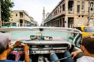 Jazda kabrioletem Hawana Kuba