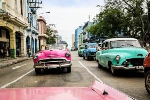 Kabriolety Hawana Kuba