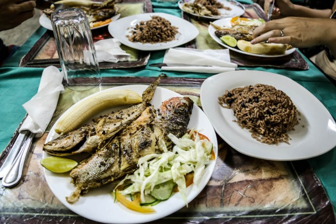 Kolacja ryba Cienfuegos