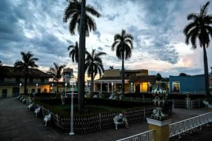Playa Mayor wieczorem