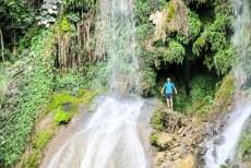 Po wodospadem El Nicho Kuba