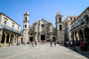 Stara Havana katedra