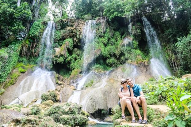 Wodospad El Nicho Kuba