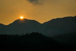 Zachód słońca Dolina Vinales