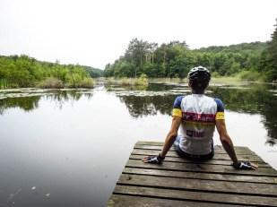 Jezioro w Wolińskim Parku Narodowym