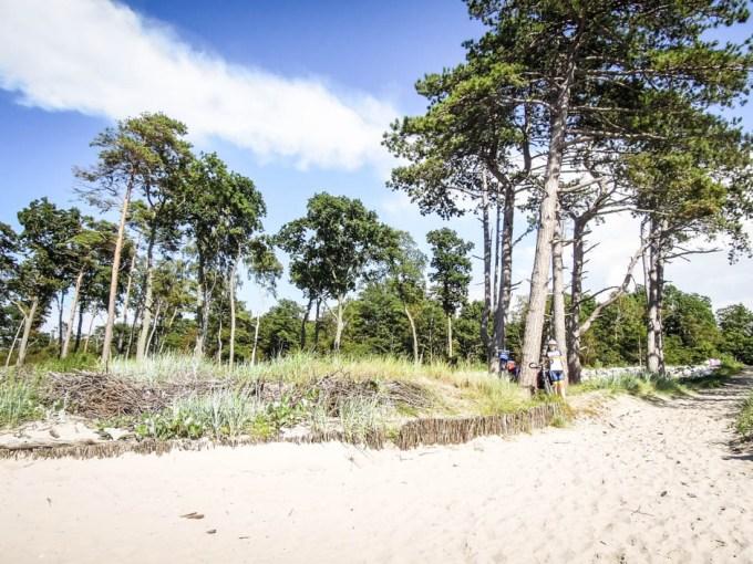 Piękna plaża za Darłowem 2