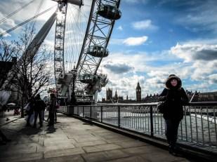 Pod London Eye