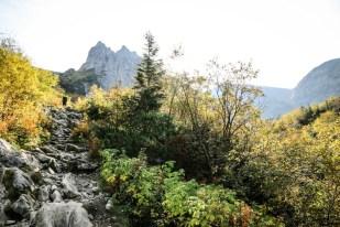 Podejście pod Kondracką Przełęcz