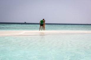 Maafushi Malediwy sand bank 3