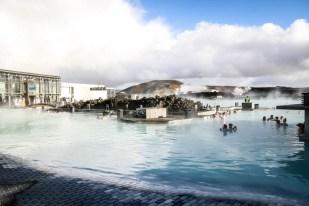 Islandia Błękitna Laguna