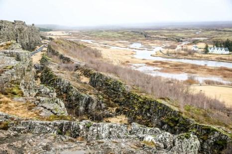 Islandia Park Narodowy Thingvellir płyty tektoniczne