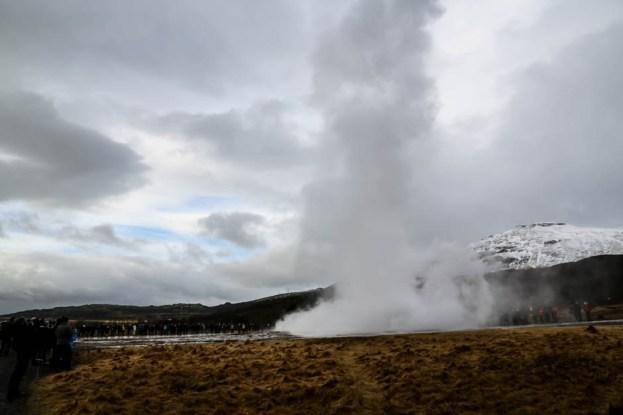 Islandia gejzer Strkkur