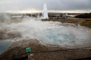Islandia pole gejzerów