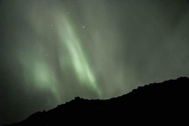 Islandia zimą zorza polarna 2