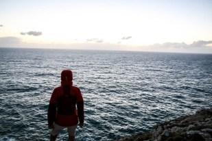 Algarve Przylądek Cabo de Sao Vicente ocean