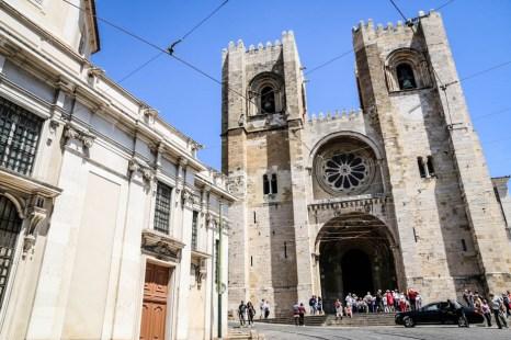 Lizbona Katedra Sé
