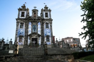 Porto kościół pokryty azulejos