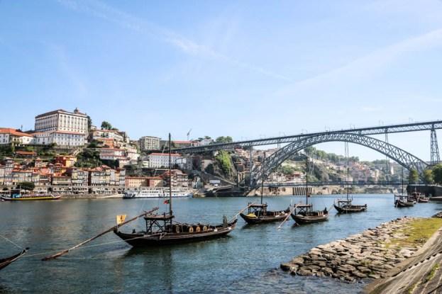 Porto widok z Vila Nova de Gaia
