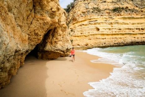Portugalia Algarve Praia da Marinha 3