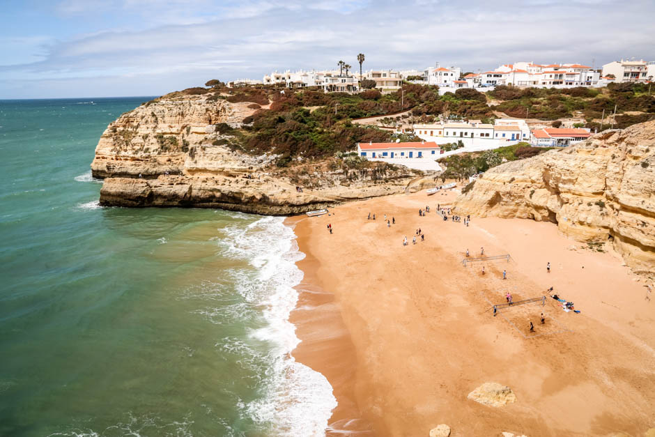 Portugalia Algarve Praia de Benagil