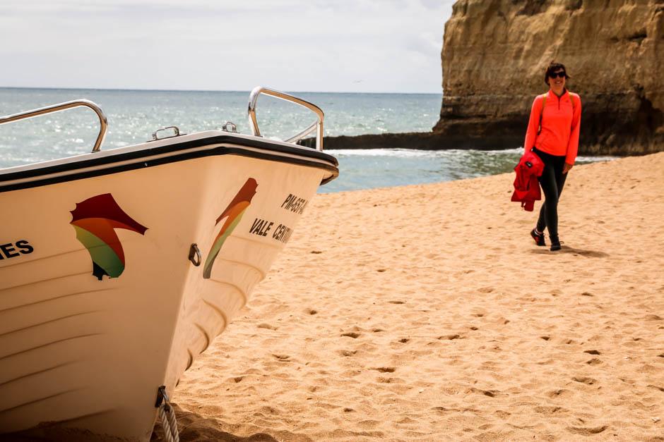 Portugalia Algarve Praia de Carvoeiro 3
