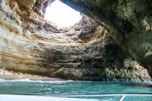 Portugalia Algarve rejs łódką Benagil Cave