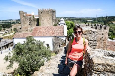 Portugalia Obidos zamek 2