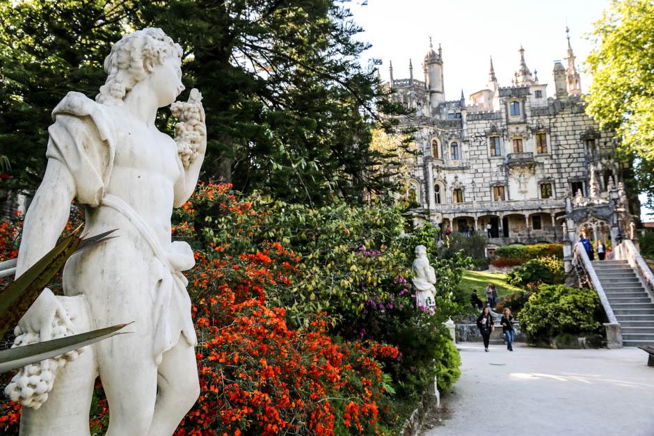 Portugalia Sintra Quinta da Regaleira park