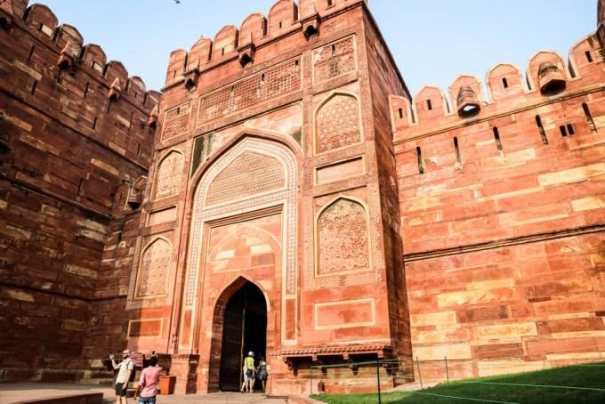 Indie Agra Fort brama