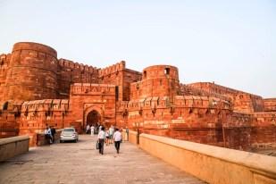 Indie Agra Fort