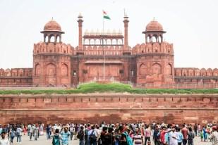 Indie Delhi Czerwony Fort
