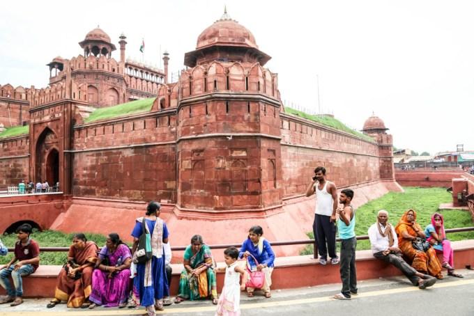 Indie Delhi Red Fort