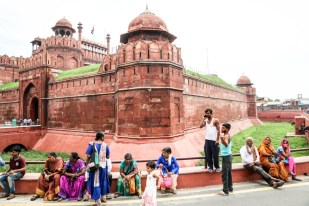 Indie Delhi Red Fort