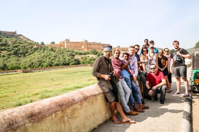Indie Jaipur Fort Amber