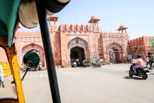 Indie Jaipur brama miasta