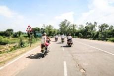 Indie Khajuraho na motorach