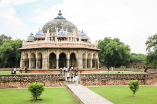 Indie New Delhi grobowiec Humayuna