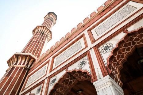 Indie Old Delhi meczet Jama Masjid 3