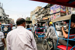 Indie Old Delhi riksze