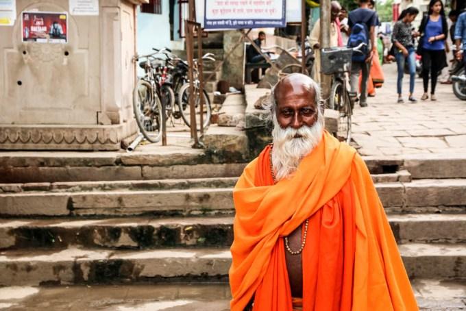 Indie Waranasi mnisi