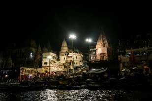 Indie Waranasi rejs łodzią