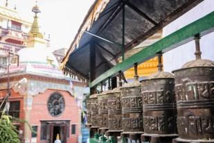 Nepal Kathamandu młynki modlitewne