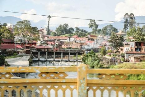 Nepal Katmandu świątynia Pashupatinath