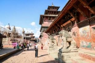 Nepal Patan Durbar Square