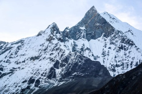 Nepal góra Machhapuchhare
