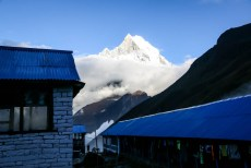 Nepal trekking do ABC Fish Tail