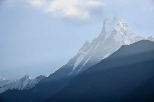 Nepal trekking do ABC Machhapuchhare z Chhomrong